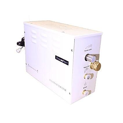 Steamplus 4 kW - Generador de vapor para baño turco  Amazon.es ... c7de24fdefdc