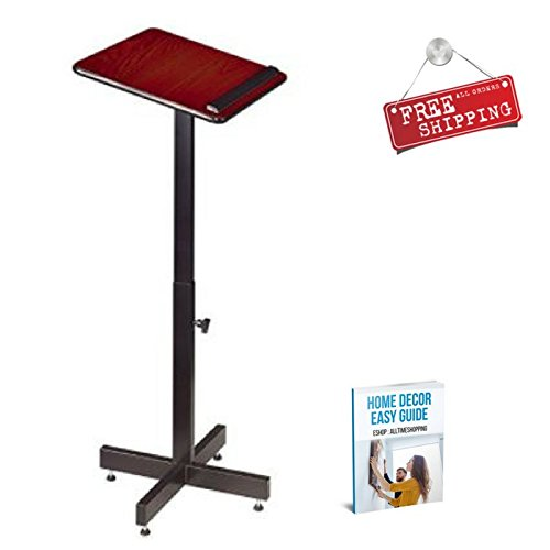 Presantation Stand Portable Lectern Adjustable Stand Display Plastic & eBook by AllTim3Shopping