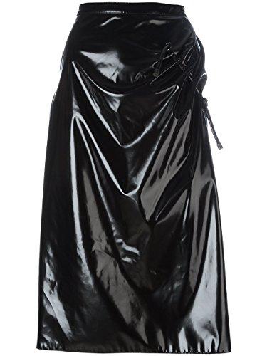 kenzo-womens-f751ju0385hg99-black-polyurethane-skirt
