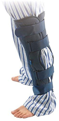 "e71bc6794c Benovate Universal 24"" Long Three Panel Knee & Leg Immobilizer Knee  Splint Brace Support with"