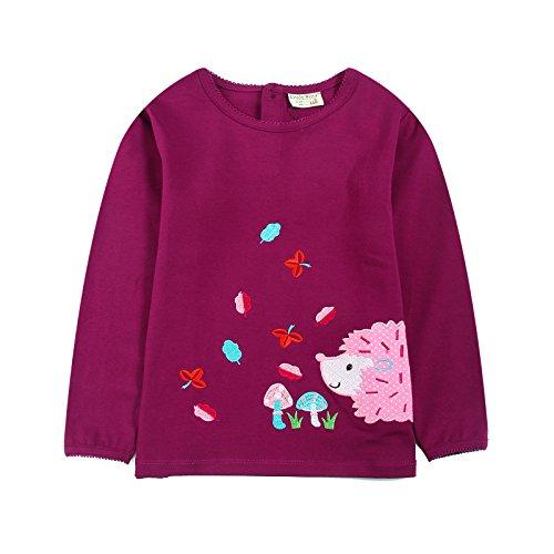 [Neighbor Girl Baby Baby Pink Lamb sweatshirts 100% Cotton (2-7 Years)] (Bowser Costume For Dog)