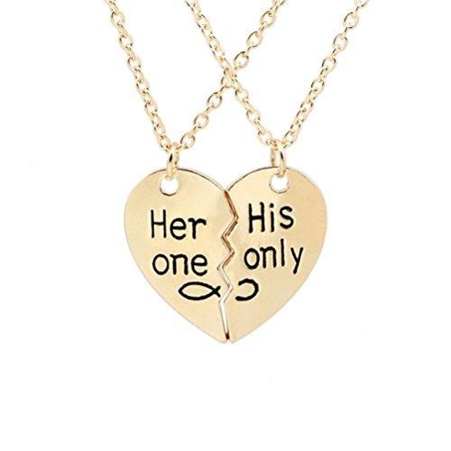 Tinksky Necklace Valentine Relationship Valentines