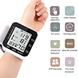 Automatic Wrist Blood Pressure Monitor Voice Broadcast High Blood Pressure Monitors Portable LCD