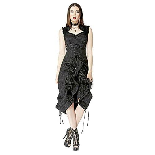 Jawbreaker Vintage Victorian Steampunk Burlesque Gothic Prom Dress (L)