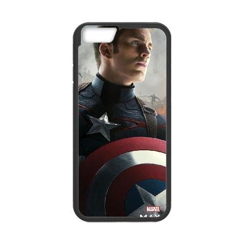 Avengers Age Of Ultron Black coque iPhone 6 Plus 5.5 Inch Housse téléphone Noir de couverture de cas coque EBDOBCKCO12353