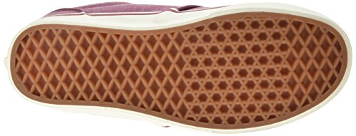 Vans - Atwood Deluxe, Zapatillas Hombre Rojo (washed Twill/red/marshmallow)