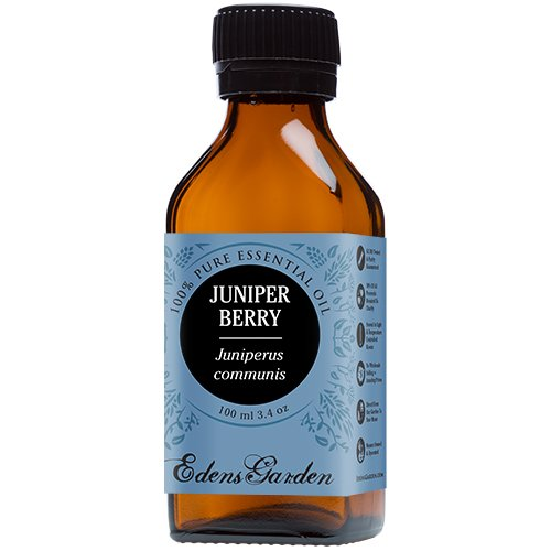 Juniper Berry 100% Pure Therapeutic Grade Essential Oil by Edens Garden- 100 ml