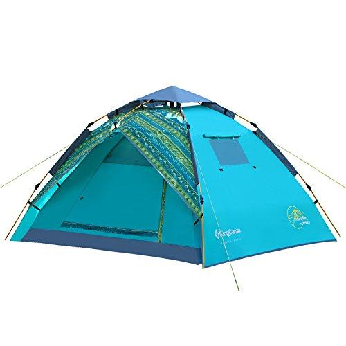 究極の持参なんとなくキングキャンプ(King Camp) KT7001 ワンタッチドームテント 【3人用】 33775