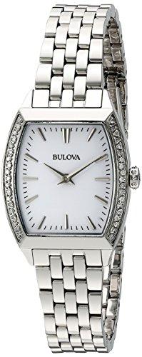 Bulova Women's 96R196 Analog Display Japanese Quartz Watch