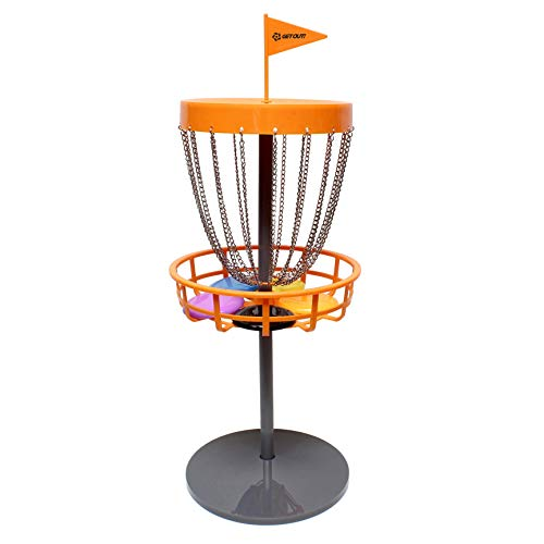 Get Out! Mini Frisbee Golf Set - Mini Disc Golf Basket with Frisbees, Outdoor Toys & Indoor Frisbee Golf Disc Golf Set