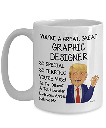 Graphic Designer Donald Trump Mug