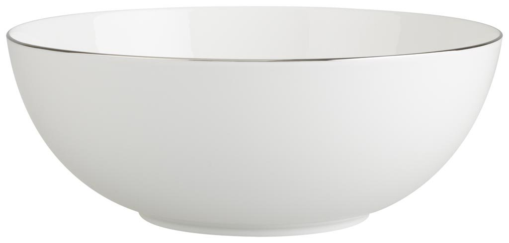 Villeroy & Boch Anmut Platinum No. 1 8-1/2-Inch Round Vegetable Bowl 1046363170