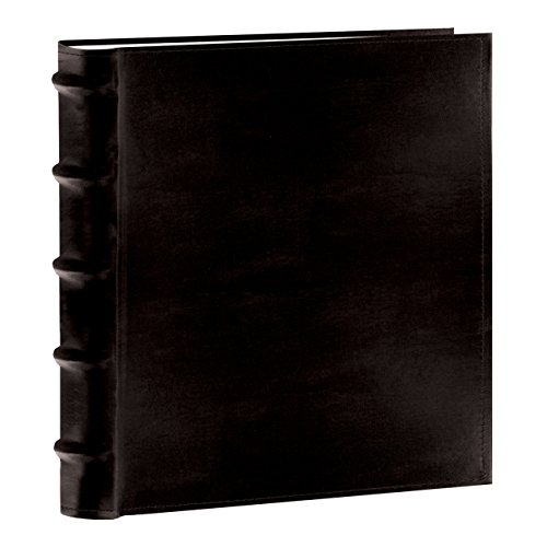 Pioneer Photo Albums 200-Pocket European Bonded Leather Photo Album for 5 by 7-Inch Prints, Black by Pioneer Photo Albums