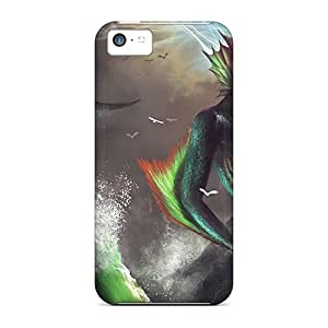 Hot TaQmdVk2878PgPgD Water Undead Tpu Case Cover Compatible With Iphone 5c