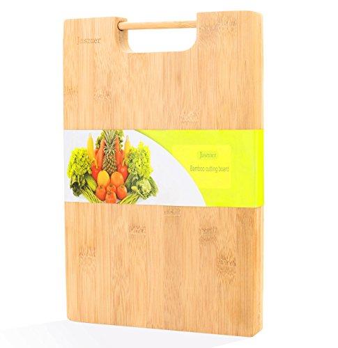 jaszmer Natural Bamboo Cutting Board, Preminum Wood Cutting