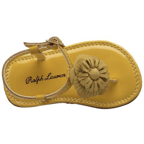 Toddler Infant Patent Lauren Suzanne Sandal Ralph Layette Yellow qg8wB