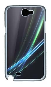 Samsung Galaxy Note II N7100 Case,Fancy Lines PC Hard Plastic Case for Samsung Galaxy Note II N7100 Whtie