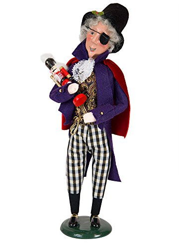 The Carolers Byers' Choice Drosselmeyer Caroler Figurine #2154 from the Nutcracker Ballet Collection (NEW 2018)