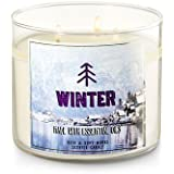 Bath and Body Works Candle Winter Fragrance 3 Wick 14.5 Ounce Essential Oils Winter