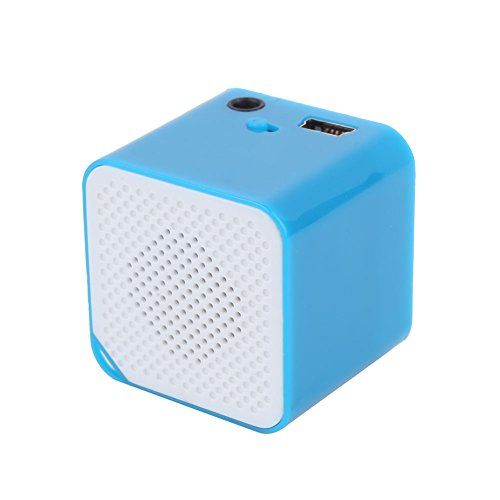 Mini Bass Speaker Loudspeaker Fashion Support 16G TF ABS Shell Stereo Tablet Computer Laptop