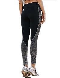 CFR Women Workout Gym Yoga Sports Clothes Tight Pants Leggings Fitness Stretch Black&Gray S-3XL USPS Post