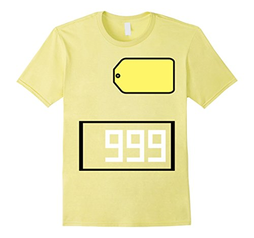 Price Is Right Big Wheel Costume (Mens Game Show Group Halloween Costume T-Shirt Large Lemon)