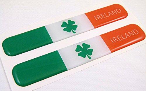 Ireland Irish Flag Domed Decal Emblem Resin car stickers 5