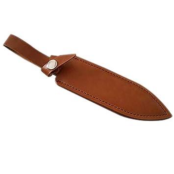 QEES GJB185 - Funda de Piel para Cuchillos de Caza
