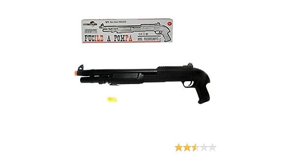 038710 Escopeta de juguete para niños SCALA 1:1 con bolas de plástico incluido