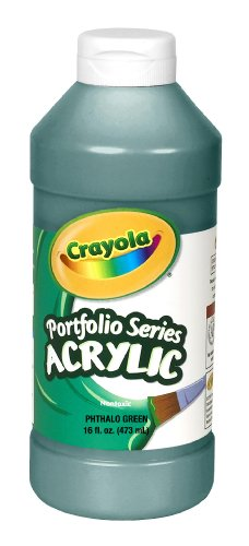 olio Series Acrylic Paint, Phthalo Green (Crayola Portfolio Series Acrylic Paint)