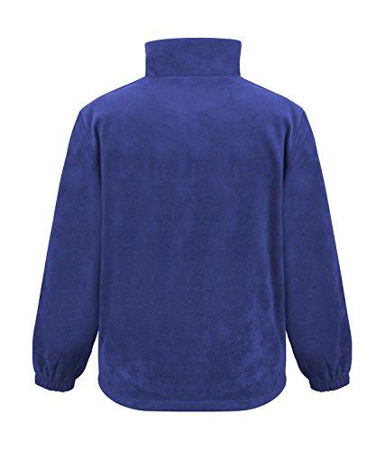 Result Fleecepullover Active mit Seitentaschen L,Royal