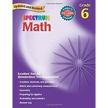 Spectrum:Math Gr. 6