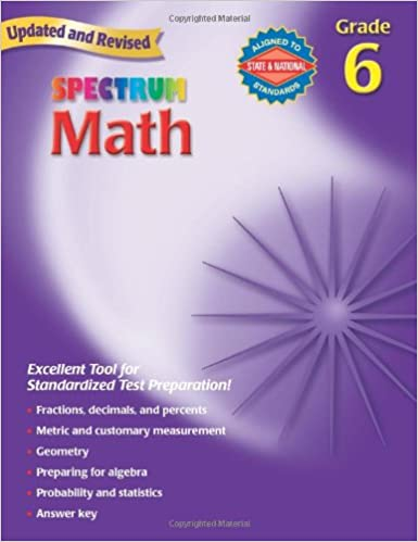 Counting Number worksheets math go worksheets : Spectrum Math, Grade 6: Thomas Richards: 0087577913964: Amazon.com ...