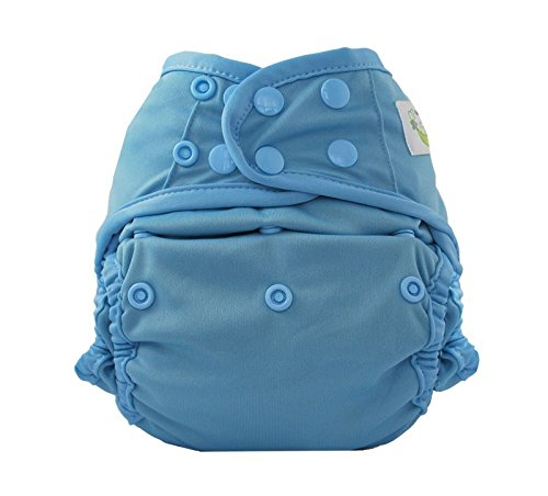 Sweet Pea Reusable Swim Diaper, Fishtail, One-Size, Blue