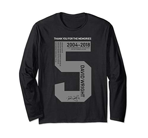 David Wright Last Homestand Of The Season 2004-2018 Shirt