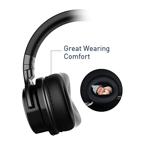 c66513fce3b COWIN E7 PRO [2018 Upgraded] Active Noise Cancelling Headphone Bluetooth  Headphones with Microphone Hi