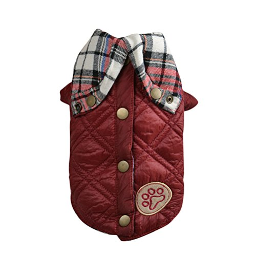 Uniquorn Pet Winter Jacket Multi-Functional European-Style Jacket Dog Coat Warm And Comfortable Two-Foot Clothing (How To Make A Scarecrow Mask)