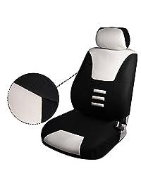 OCPTY   Cojín de asiento elástico con funda para reposacabezas, ruedas y almohadillas