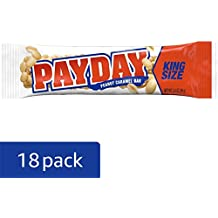 PAYDAY Peanut Caramel Candy Bars, 3.4 Ounce Bar (Pack of 18)