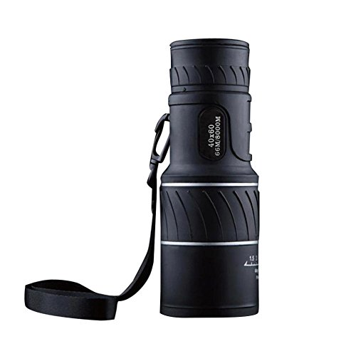 ASOSMOS Focus Monocular 40x60 Zoom HD Night Vision Telescope for Travel Hunting Caping Hiking Sporting Event by ASOSMOS