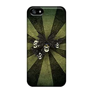 Iphone 5/5s NOh6329vPPG Unique Design HD Avenged Sevenfold Pattern Bumper Hard Cell-phone Case -DrawsBriscoe