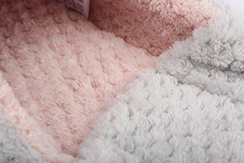 ieasysexy Women Winter Comfy House Slipper Indoor Shoes with Non-Slip Sole(Grey 38-39) Grey srler2m8