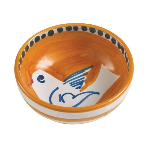 - Vietri Uccello Olive Oil Bowl - Campagna Collection