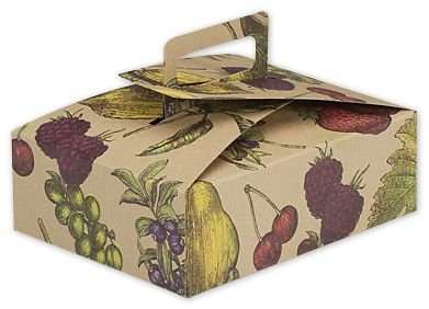 Cajas de alimentos & Gourmet – Frutas cuenco apilables Cajas de comida, 9 x 7