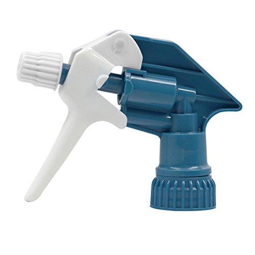 Delta Products Orbital Replacement Nozzle Trigger Sprayer, 28/400 Repl Sprayr w/Tube, White/Blue/Natural (Repl Tube)