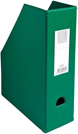 EXACOMPTA Lot de 3 Portes revue Dos 100mm PVC Vert