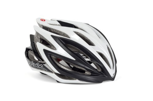 Spiuk Dharma - Unisex cycling helmet, colour black / white, size 51 - 56 by SPI