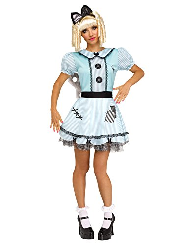 Fun World Women's Wind-Up Doll, Multi, S/M Size