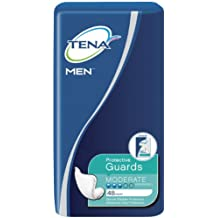 TENA for Men Protective Guards, Moderate Absorbency, 48 Count