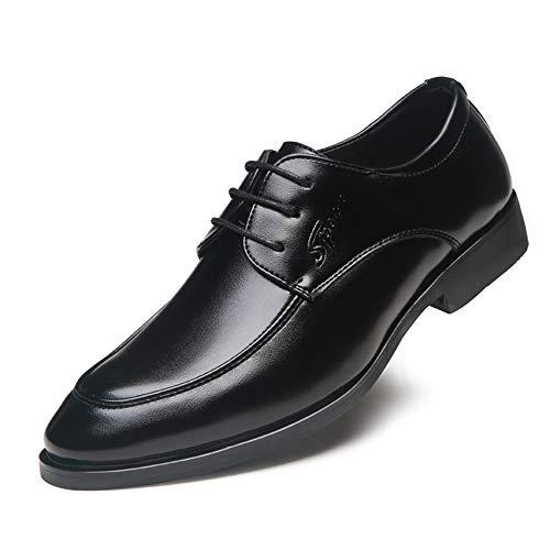 Tinta Cuciture Eu 2018 Unita Morbide Leathe Business Wenquan Nero Raso Con Da Dimensione Nero Ox In Uomo Pelle 39 Ginnastica color shoes Scarpe Oxford 4wB78